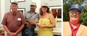 Johnnie Fisher, Karl & Patricia Glaeser