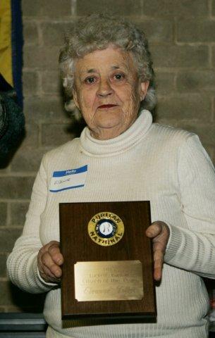 Lucketts Citizen-of-the-Year, Eleanor Tilletts