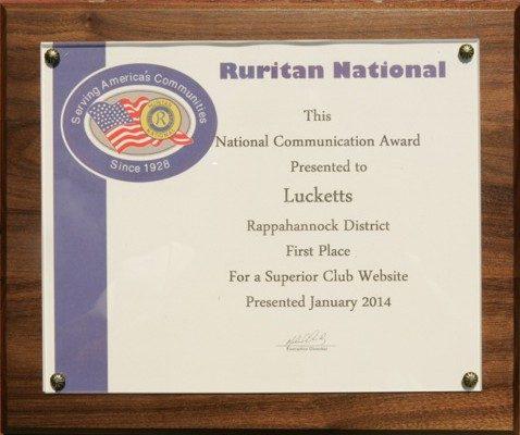 2014 Web Site Award