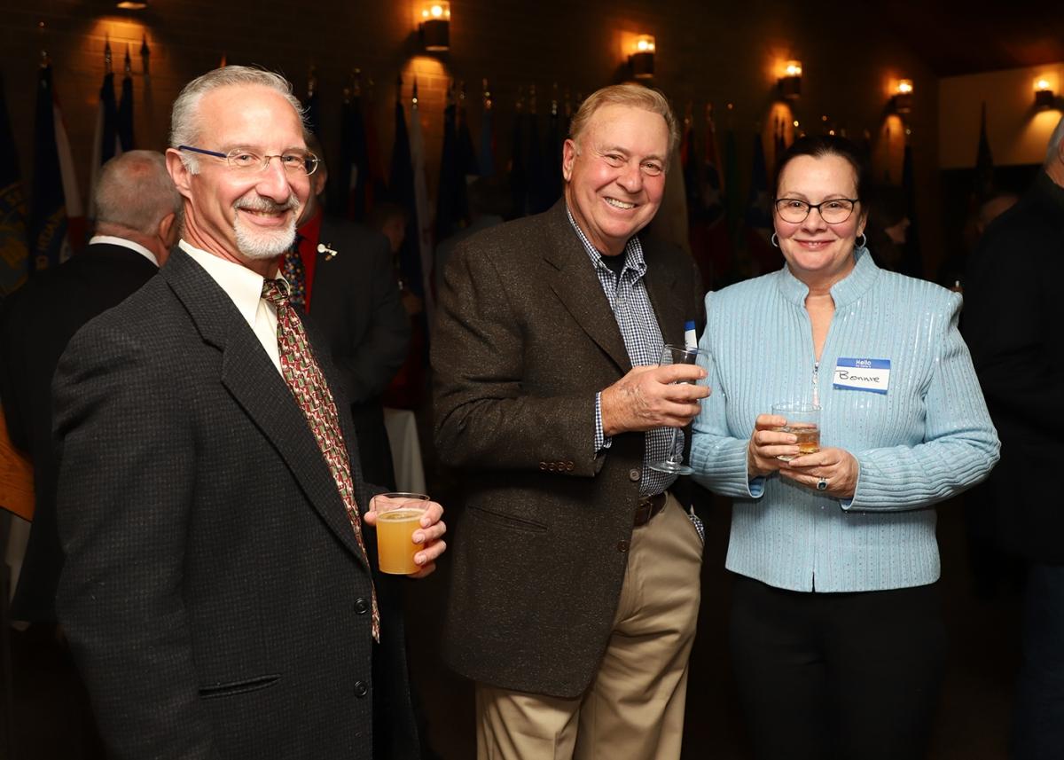 Eric Rubright, Frank & Bonnie Maruca